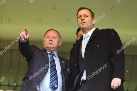 Barry Fry and Darragh MacAnthony