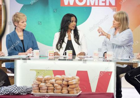 Anne Diamond, Hala El-Shafie and Linda Robson