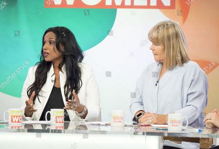 Hala El-Shafie and Linda Robson