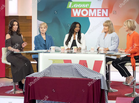 Andrea McLean, Anne Diamond, Hala El-Shafie, Linda Robson and Jane Moore