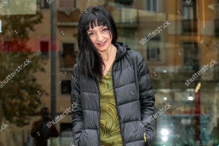 Maria De Medeiros attends the presentation of her retrospective films at Filmoteca de Catalunya