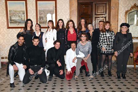 Editorial picture of 'Il Bello delle Donne Alcuni Anni Dopo' Photocall, Rome, Italy - 10 Jan 2017