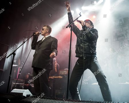 Editorial image of The Alabama 3 in concert,  O2 ABC in Glasgow, Scotland, UK - 04 Dec 2015