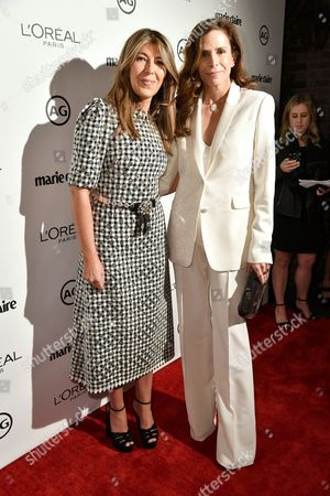 Stock Image of Nina Garcia and Cristina Ehrlich