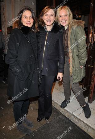 Gina Bellman, Fiona Bruce and Mariella Frostrup