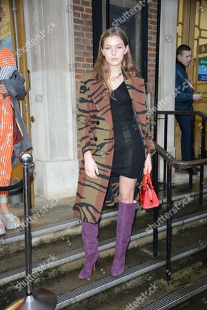 Editorial image of Vivienne Westwood show, Arrivals, Autumn Winter 2017, London Fashion Week Men's, UK - 09 Jan 2017