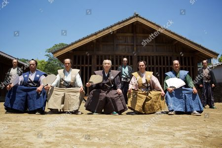 (Center) Issey Ogata and Old Samurai