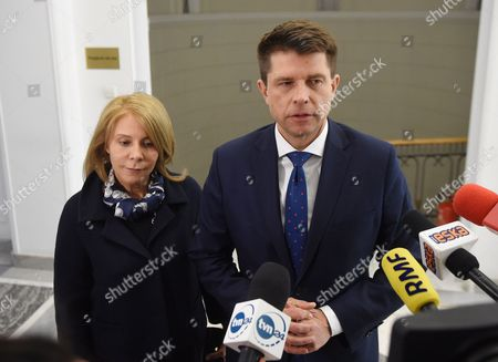 Ryszard Petru and Barbara Dolniak