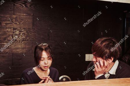 Stock Photo of Min-hee Kim, Jae-yeong Jeong