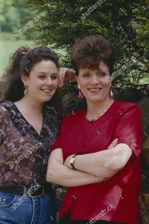 Philomena McDonagh (as Carol Nelson) and Nicola Strong (as Lorraine Nelson)