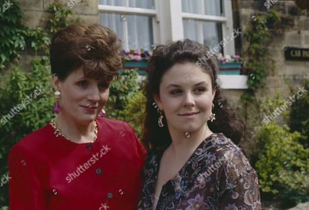 Stock Picture of Philomena McDonagh (as Carol Nelson) and Nicola Strong (as Lorraine Nelson)