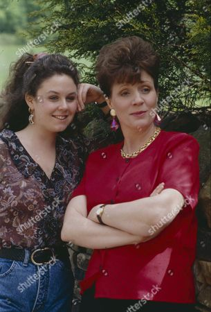 Stock Image of Philomena McDonagh (as Carol Nelson) and Nicola Strong (as Lorraine Nelson)