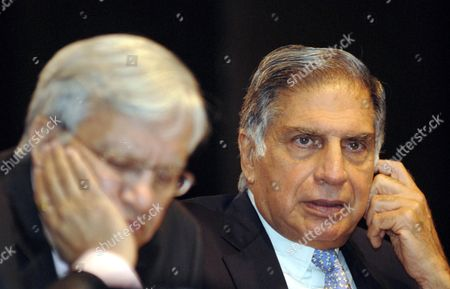 Ratan Tata Chairman Tata Motors (r) and Ravi Kant Vice Chariman Tata Motors During the Tata Motors Annual General Meeting in Mumbai During the Tata Motors Annual General Meeting in Mumbai India 25 August 2009 Tata Motors Reported a Gross Revenue (stand-alone) of Over 286 Billion Inr Or 4 Billion Eur (2007-08: Over 330 Billion Inr Or 4 7 Billion Eur) in 2008-09 a Year Marked by Severe Demand Contraction in the Automobile Industry