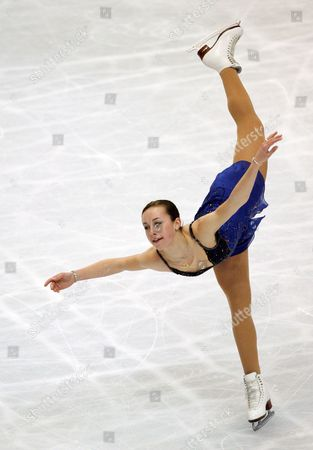 Kimmie Meissner of the United States Performs During Her Free Skating at the World Figure Skating Championships in Tokyo Saturday 24 March 2007 Meissner Placed Fourth at the Ladies Skating