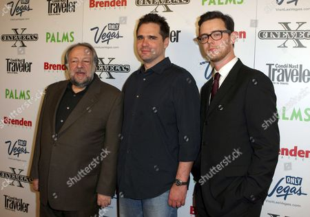 Ricky Jay, Sean McGinty, and Colin Hanks