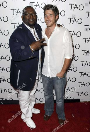 Randy Jackson and David Annable
