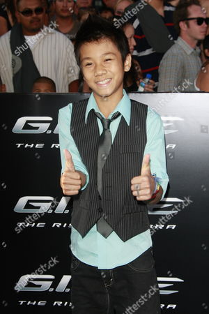 Us Actor and Cast Member Brandon Soo Hoo Arrives at the Premiere of 'G i Joe: the Rise of Cobra' at the Chinese Theatre in Hollywood California Usa 06 August 2009 From the Egyptian Desert to Deep Below the Polar Ice Caps the Elite G i Joe Team Uses the Latest in Next Generation Spy and Military Equipment to Fight the Film Opens in Us On 07 August