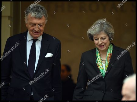 Editorial photo of Theresa May delivers speech on social reform, London, UK - 09 Jan 2017