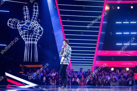 Editorial picture of 'The Voice' TV show, Episode 1, UK - 07 Jan 2017