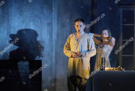 Iestyn Davies as The Boy, Barbara Hannigan as Agnes