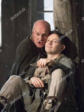 Christopher Purves as The protector, Iestyn Davies as The Boy,