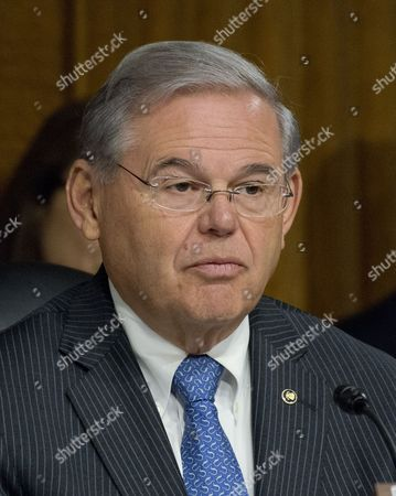 United States Senator Bob Menendez (Democrat of New Jersey), a member of the US Senate Committee on Foreign Relations, at the hearing considering the nomination of Rex Wayne Tillerson, former chairman and chief executive officer of ExxonMobil to be Secretary of State of the US