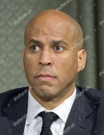 United States Senator Cory Booker (Democrat of New Jersey), a member of the US Senate Committee on Foreign Relations, at the hearing considering the nomination of Rex Wayne Tillerson, former chairman and chief executive officer of ExxonMobil to be Secretary of State of the US