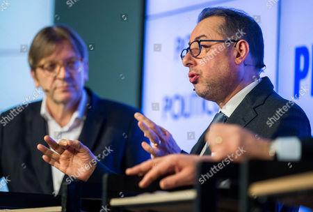 Gianni Pittella and Guy Verhofstadt