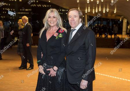 Stock Image of Elvira and Gunter Netzer