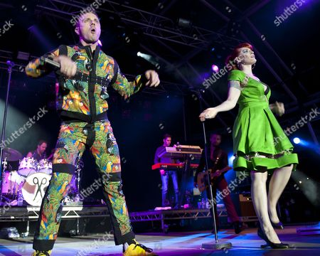 Scissor Sisters - Jake Shears, Ana Matronic, Del Marquis, Randy Real