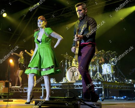 Stock Picture of Scissor Sisters - Ana Matronic, Del Marquis, Randy Real