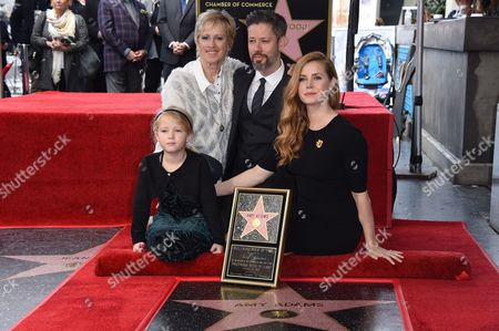 Aviana Le Gallo, Kathryn Hicken, Darren Le Gallo and Amy Adams