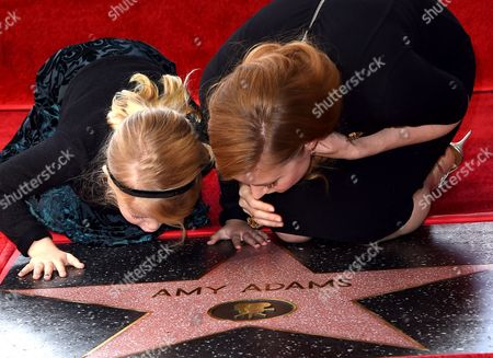 Amy Adams and Aviana Le Gallo