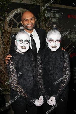 Usman Ally, Jackie Robbins and Joyce Robbins