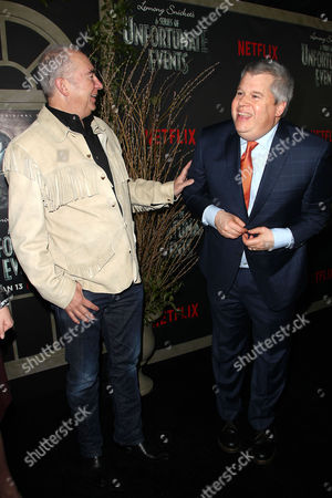 Stock Image of Barry Sonnenfeld (Director) and Lemony Snicket (Writer)