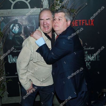 Barry Sonnenfeld and Lemony Snicket