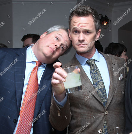 Lemony Snicket and Neil Patrick Harris