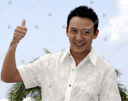 Stock Image of Chinese Actor Chen Chan Poses During a Photo Call For the Film 'Guisi' by Chinese Director Chao-pin Su Running out of Competition at the 59th Cannes Film Festival Wednesday 24 May 2006 in Cannes