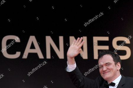Us Director Quentin Tarantino Arrives For the Gala Screening of the Film 'Vengeance' by Johnny to Running in Competition During the 62nd Edition of the Cannes Film Festival in Cannes France 17 May 2009