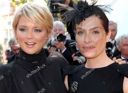 French Tv Host Daphne Roulier (r) and Belgian-born Tv Host Virginie Efira (l) Arrive For the Gala Screening of the French/ Italian Film 'Un Prophete' by Jacques Audiard Running in Competition in the 62nd Edition of the Cannes Film Festival in Cannes France 16 May 2009
