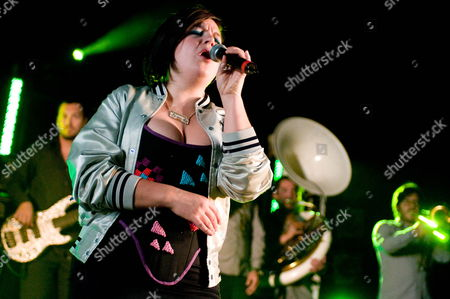 Romanian-german R&b Singer Miss Platnum Performs at the Solidays Music Festival On the Outskirts of Paris France 27 June 2009 the Annual Solidays Festival Which is Aimed at Raising Funds For the Fight Against Aids Celebrates Its11th Edition This Year