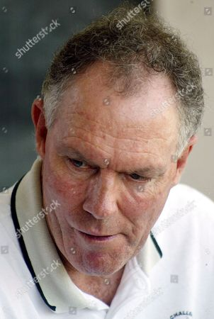 Indian Cricket Team Coach Australian Greg Chappell Watches a Cricket Match For the Local Irani Trophy Between a Railways Team and a Rest of India Team in New Delhi India On Monday 03 October 2005 India Will Play Against Sri Lanka Seven One Day Internationals and Three Test Matches at the End of This Month