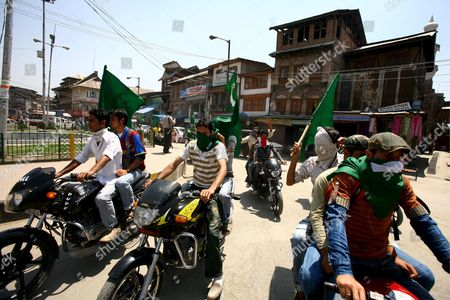 Editorial image of India Kashmir Rally - May 2009