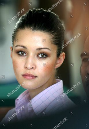 Australian Michelle Leslie Listens to Prosecutors During Her Trial at Denpasar District Court in Bali Indonesia On Tuesday 15 November 2005 Prosecutors Asked a Court to Sentence Leslie to Three Month Jail Leslie a Model Was Arrested in Bali After Police Said They Found the Party Drug Ecstasy in Her Bag