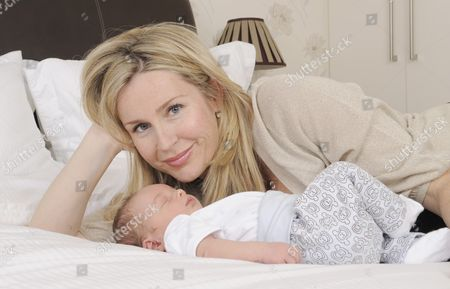 Sarah Heaney with her son William