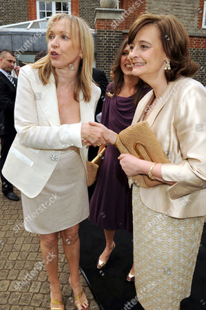 Sue Whiteley and Cherie Blair