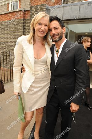 Sue Whiteley and Marc Jacobs