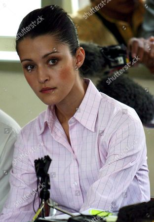 Australian Michelle Leslie Sits in the Courtroom During Her Trial at a Denpasar District Court in Bali Indonesia On Tuesday 01 November 2005 Leslie a Model Was Arrested in Bali After Police Said They Found the Party Drug Ecstasy in Her Bag Epa/made Nagi