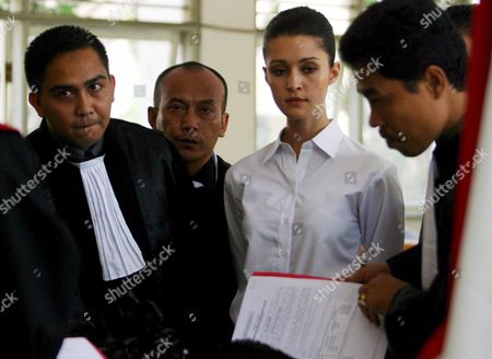 Australian National Michelle Leslie in the Courtroom For Her Drugs Trial at Denpasar District Court in Bali Indonesia On Friday 11 November 2005 Leslie a Model Was Arrested in Bali After Police Said They Found the Party Drug Ecstasy in Her Bag