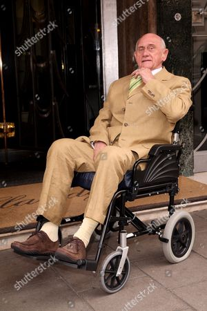 Editorial picture of EastEnders actor John Bardon making his first public appearance since his stroke at the Life After Stroke awards, Claridges, London, Britain - 25 Jun 2008